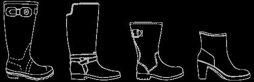Bottplie botas 100% impermeables