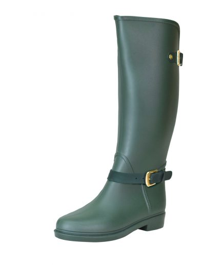 Botas Lluvia Eternity Twin Buckle Verdes
